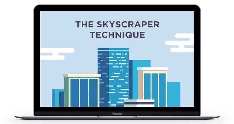 Áp dụng phương pháp Skyscraper Technique của Brian Dean trong cách đi backlink