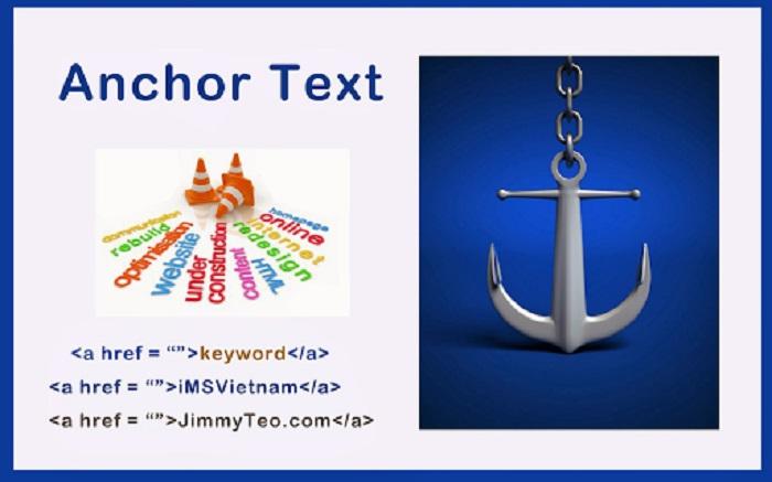 Anchor Text chính là một đoạn văn bản sử dụng để gắn đường link (URL) vào đó