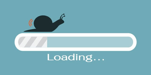 Không nên đặt link trên trang load chậm