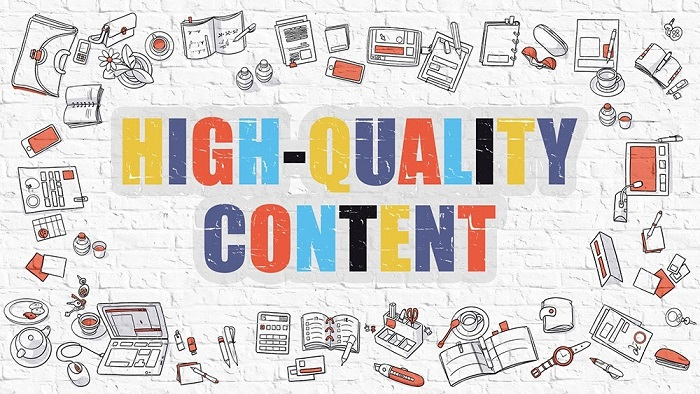 Chất lượng nội dung là yếu tố quan trọng để website của bạn có lên TOP hay không